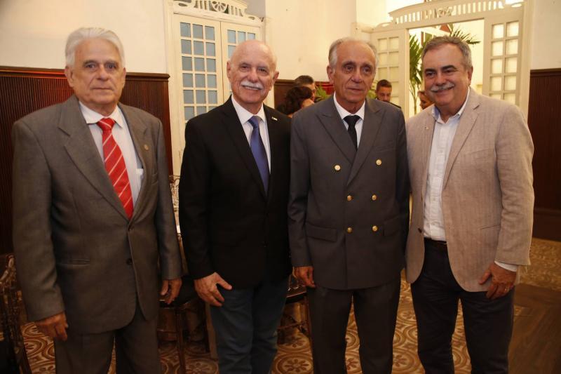 Luiz Sergio, Freitas Cordeiro, Joao Guimaraes e Assis Cavalcante