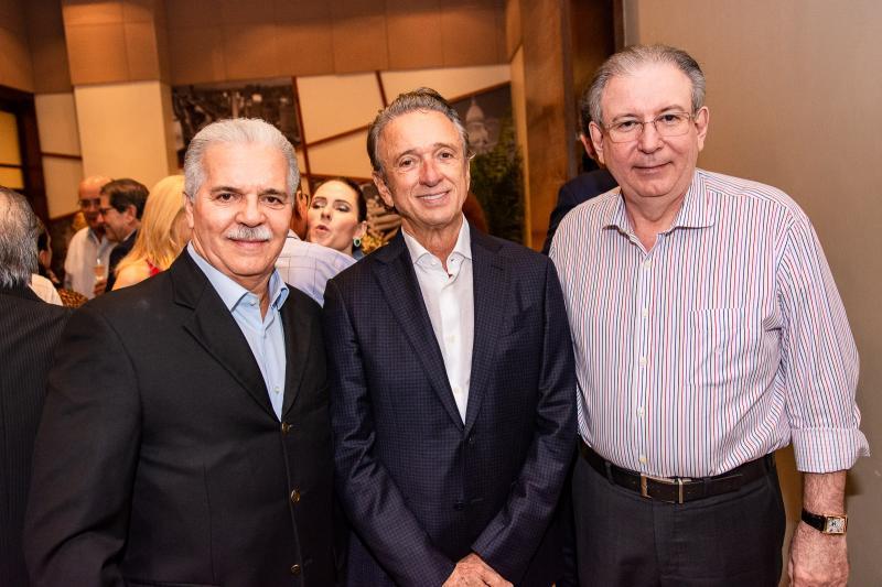 Pio Rodrigues, Erivaldo Arraes e Ricardo Cavalcante