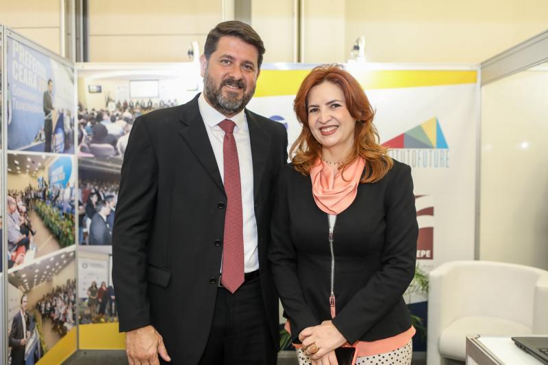 Rafael Rodrigues e Enide Camara