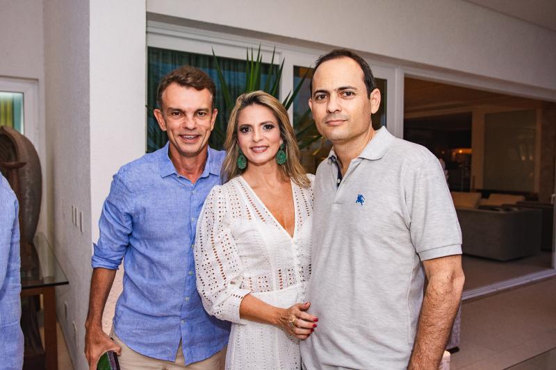 Fred Pinto, Michelle Aragao e Osnir Coelho