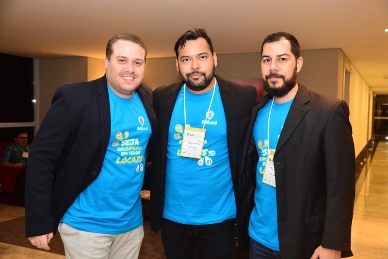 Felipe Caezar, Abel Cerdeira e Tulio Pinheiro