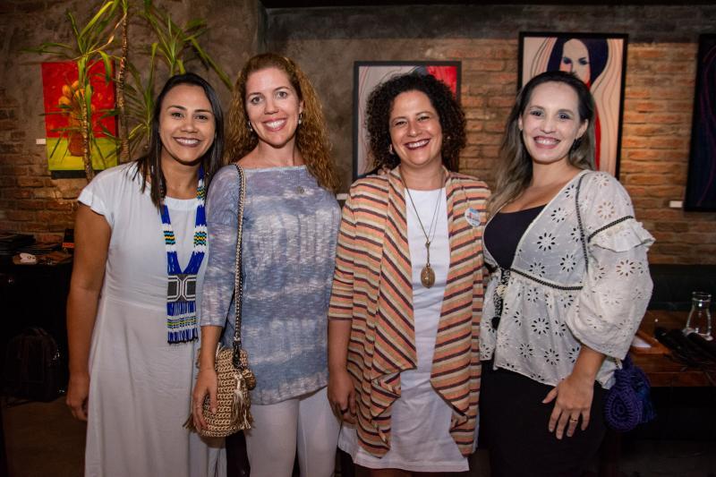 Natalia Martins,Ticiana Rolim Queiroz, Liana Feingold e Priscilla Veras
