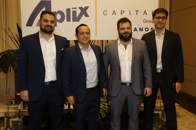 Gustavo Damasceno, Felipe Romcy, Felipe Romcy e Alberto Saboia