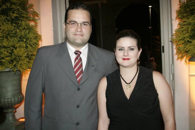 Carlos Ernesto e Conceicao Holanda