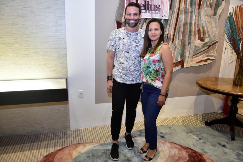Filipe Andrade e Laura Maia