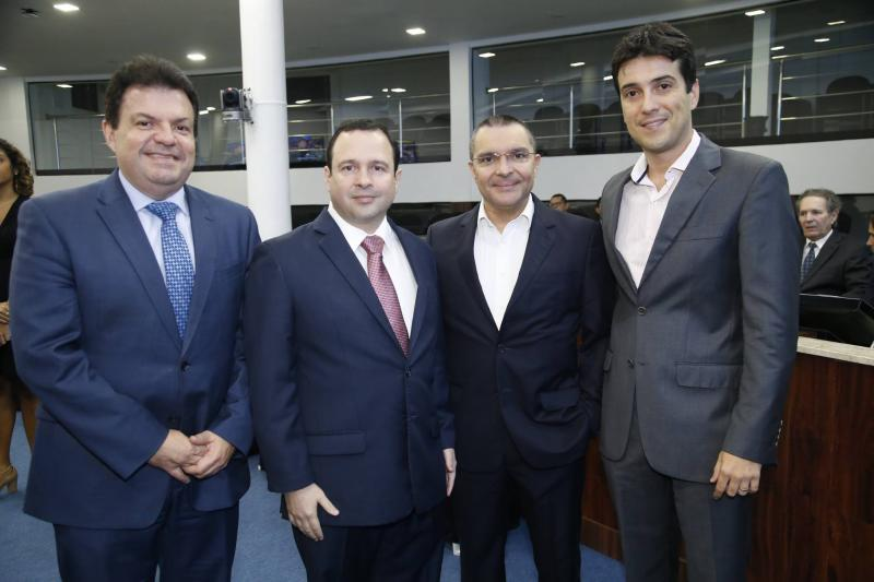 Fernando Ferrer, Igor Barroso, Daniel Demetrio e Gonzalo Mota