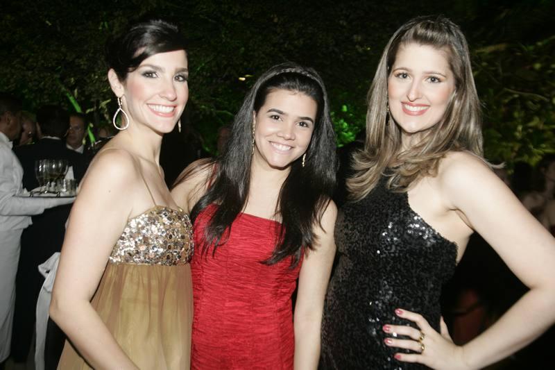 Marcela Carvalho, Priscila Leal e Rebeca Bastos