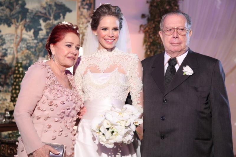 Itala, Natalia e Edson Ventura