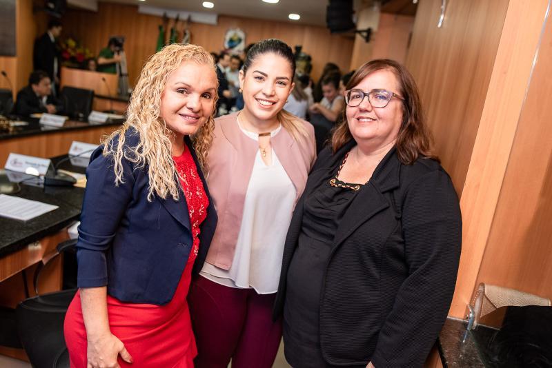 Irineide Fortunato, Priscila menezes e Germana Sales