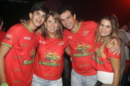 Felipe, Alessandra, Fred e Mariana Pinto