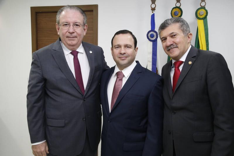 Ricardo Cavalcante, Igor Barroso e Antonio Henrique