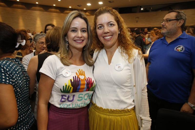 Lilia Fontenle e Ticiana Queiroz