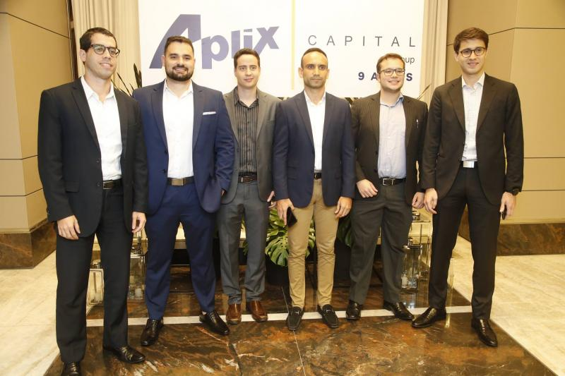 Igo Falcao, Gustavo Damasceno, Ravi Lima, Ticiano Correa, Felipe Eduardo e Alberto Saboia