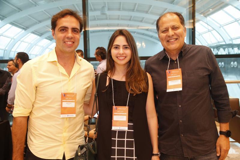 Carlos Gama, Juliana Quindere e Lupercio Gurjao