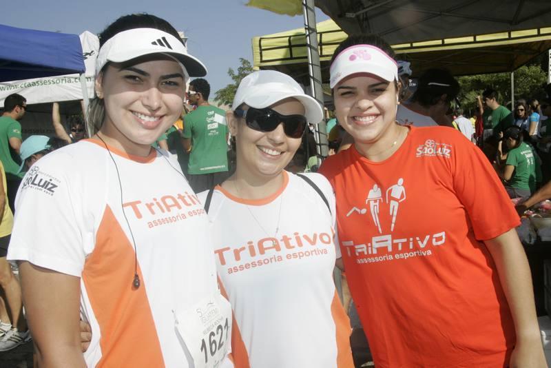 Rebeca Holanda, Valeria Sena e Mariana Deusdara