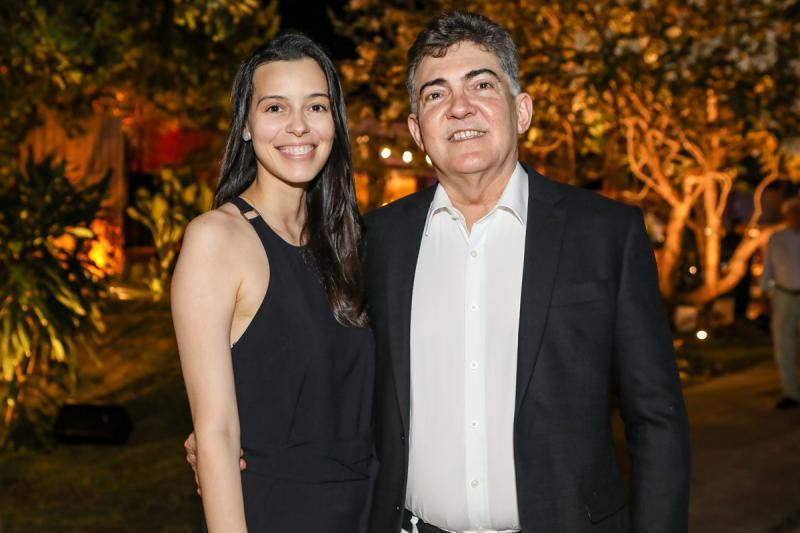Rafaela Veras e Jaime Leitao