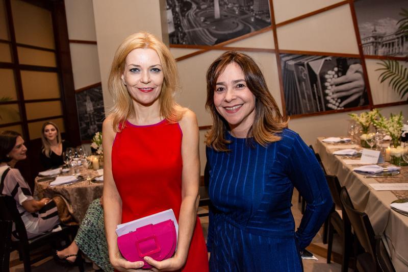 Ana Cristina Pedroso e Carla Seixas