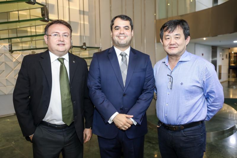 Marcelo Marinho,Thiago Furtado e William Nipon