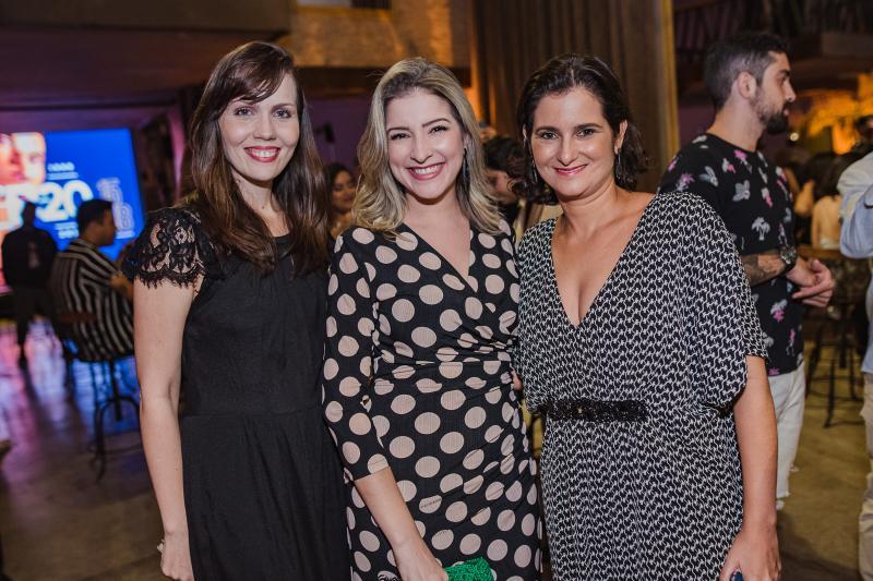 Cintia Sampaio, Leyliane Pinheiro e Cecilia Seligmann