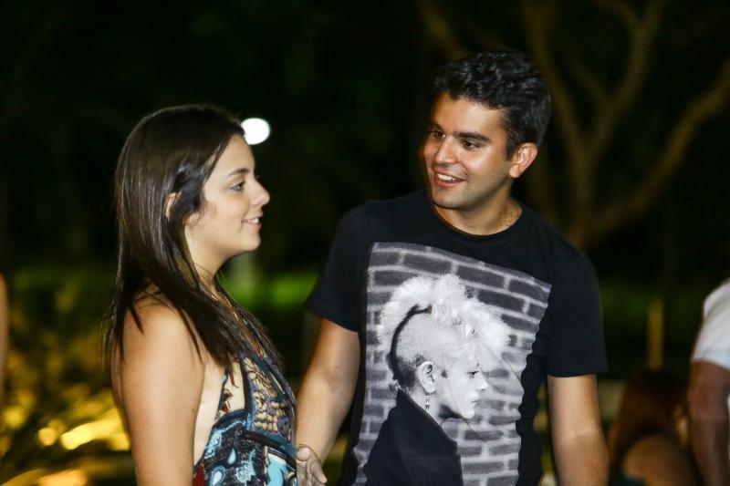 Clarissa Brandão e Guilherme Negreiros