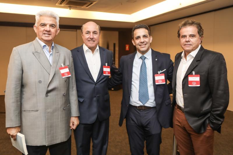 Tales Sa Cavalcante, Silvio Frota, Raul Amaral e Ivan Bezerra