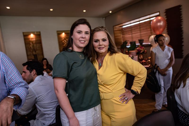 Rafaela Moraes e Teka Leitao