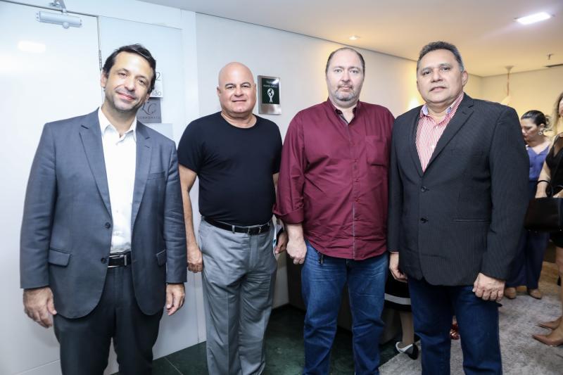 Fred Albuquerque, Luciano Cavalcante, Marco Massari e Espedito Róseo