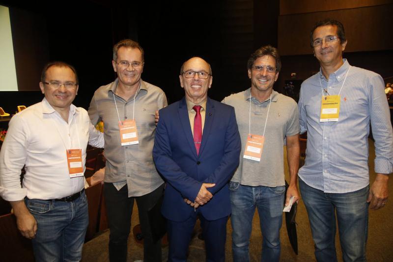 Carlos Matos, Sergio Macedo, Andre Montenegro, Adalberto Machado e Augusto Souza