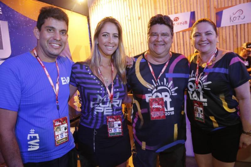 Victor e Raquel Ferreira, Colombo e Lili Cialdini
