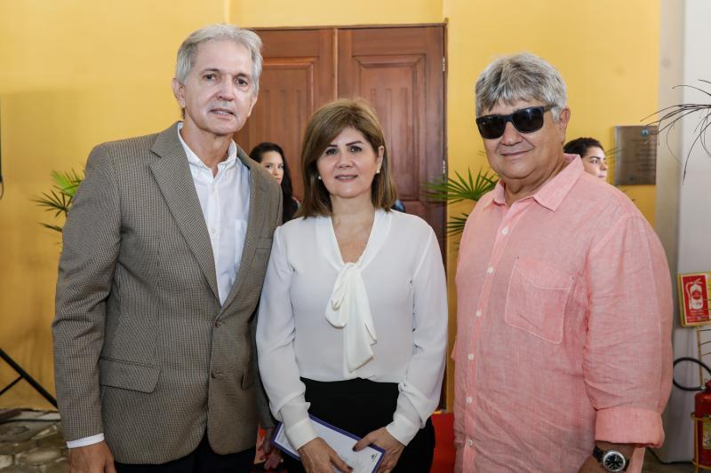 Luis Aldo, Monica Goiana e Carlos Benevides