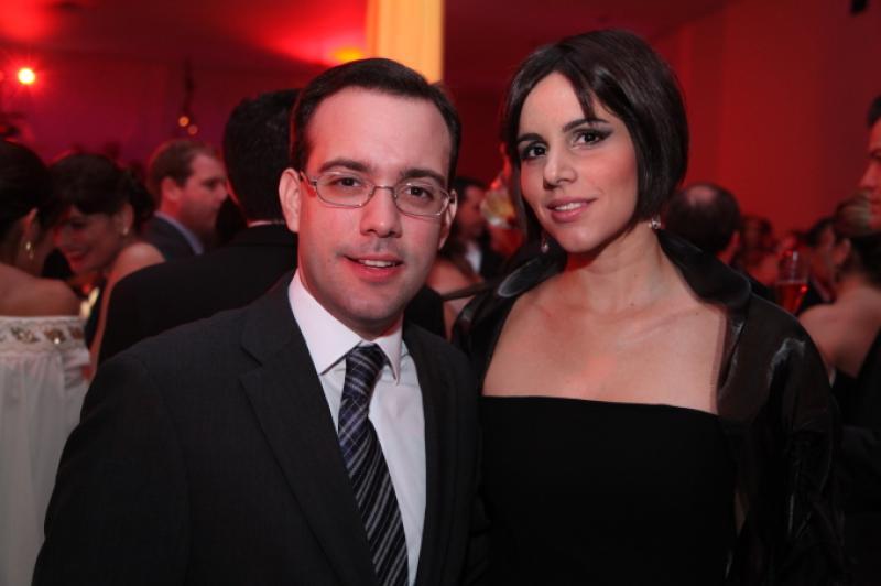 Ivo Machado e Marcia Hissa