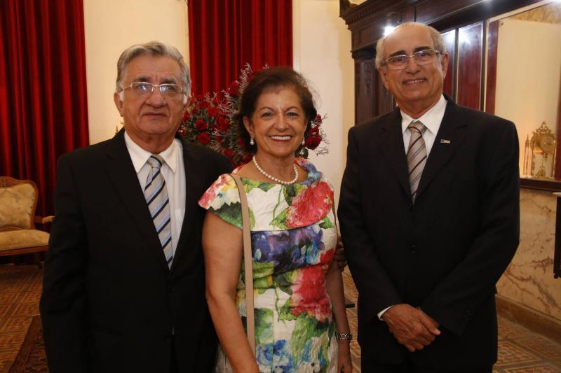 Paulo e Ines Benevides e Joao Bosco Macedo