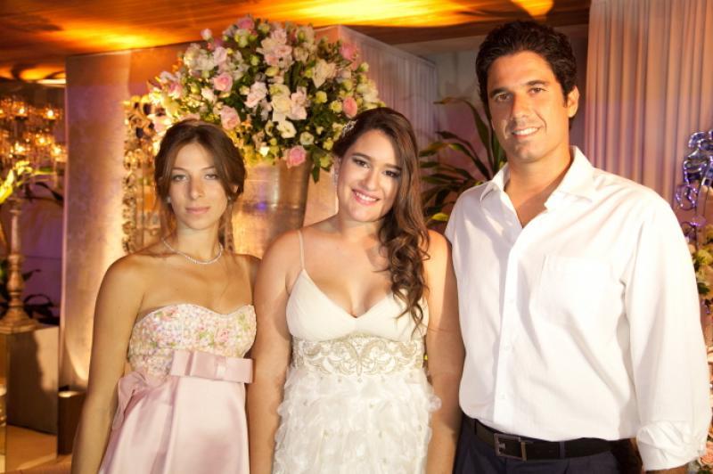 Paula Parente, Amanda e Fabio Melo