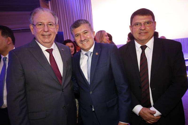 Ricardo Cavalcante, Antonio Henrique e Sergio Lopes