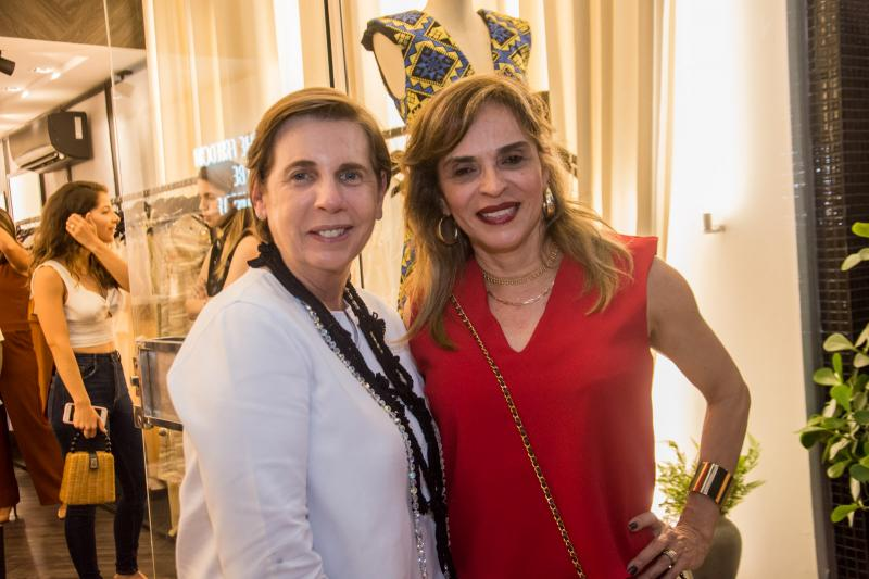Vania Franck e Sonia Ximenes
