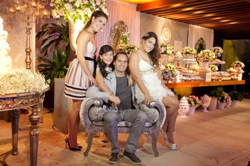 Ana Cristina, Bianca, Tarso e Amanda Melo