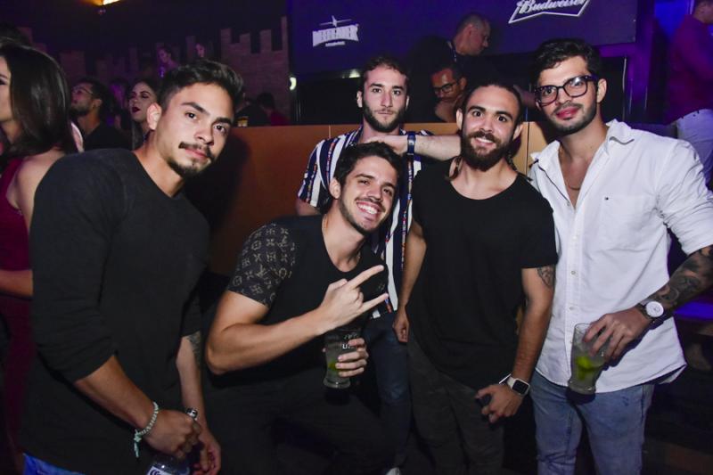 Rafael Aguiar, Bruno Vasconcelos, Gabriel Abul, Gabriel Baltemile e Victorio Vespo