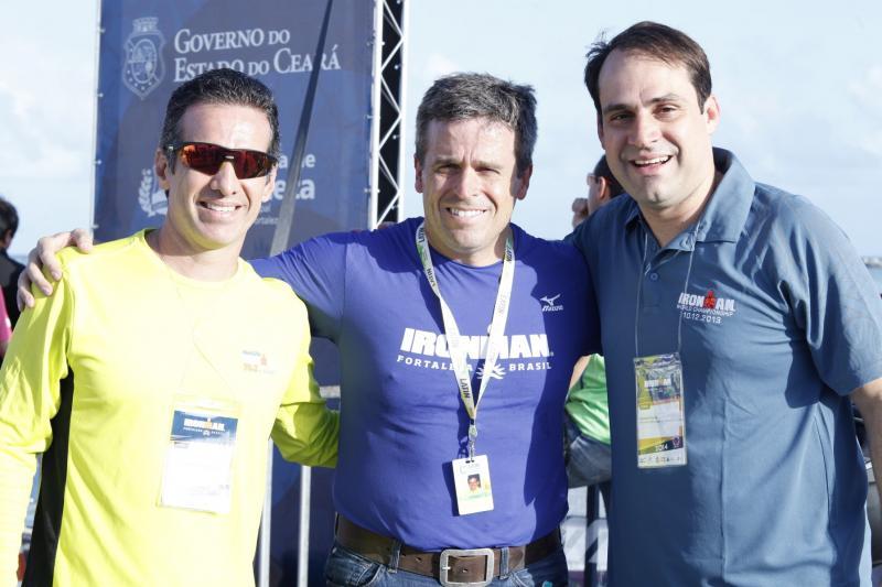 Luciano Petri, Salmito Filho e Carlos Galvão