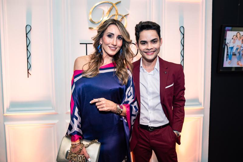 Melaine Diogo e Antonio Felipe