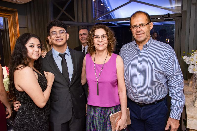 Marina Biral, Joao Pedro, Marieta Sousa e Jersson Biral