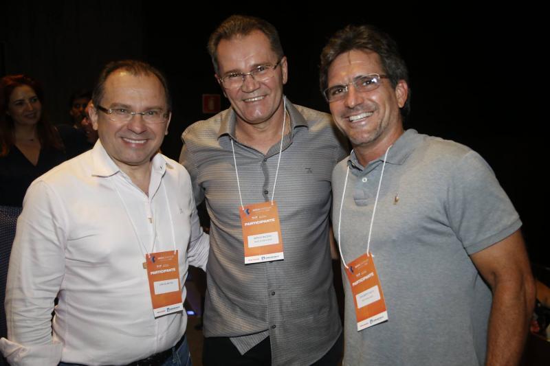 Carlos Matos, Sergio Macedo e Adalberto Machado