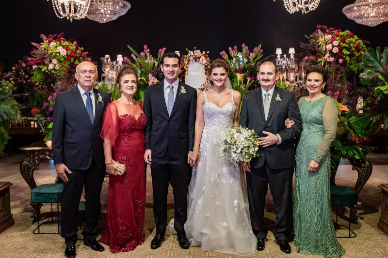Jose Carlos e Ana Cleide, Jose Carlos, Isabele Studart, Franze e Valeria Gomes