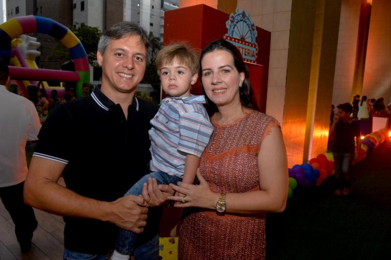 Marcio, Joao e Flavia Galiza