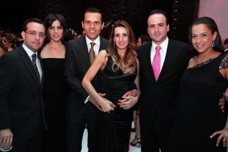 Ivo Machado, Marcia Hissa, Eduardo e Melaine Diogo, Pedro e Lara Fiuza