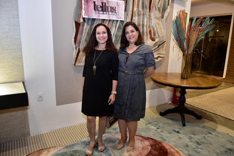 Jacirene Moura e Andrea Cancela