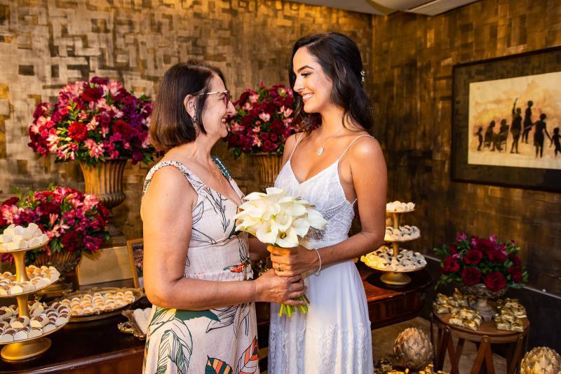 Odete Oliveira e Jeycielle Oliveira