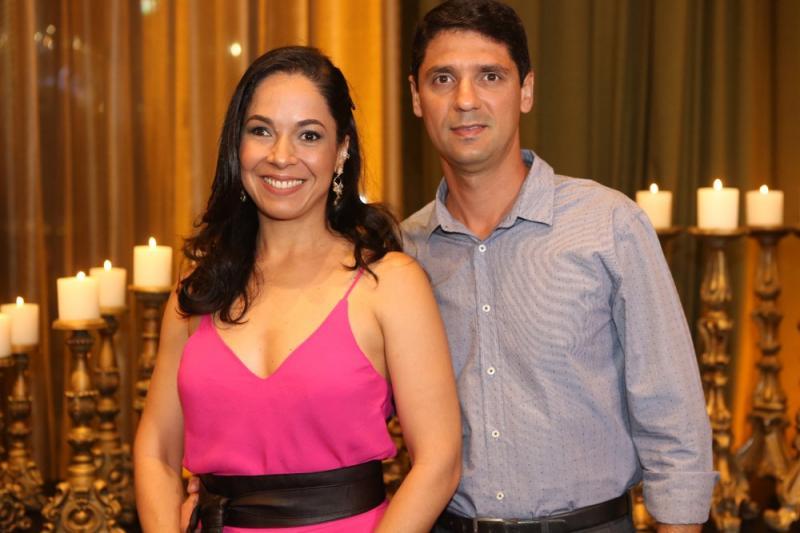 Aline Soares e Moacir Weyne