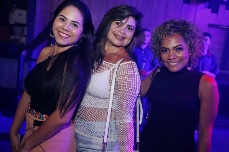 Gabriela Santos, Edilene Ribeiro e Joelma Silva