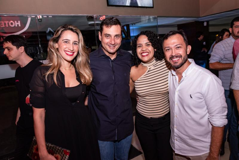Samantha Miranda, Luiz Trotta e Lucílio Lessa