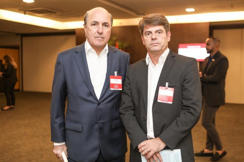 Silvio Frota e Luis Carlos Tomé